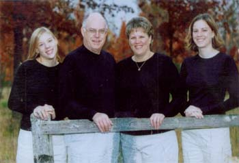Robert Burdette and Virginia Hansen Freese family