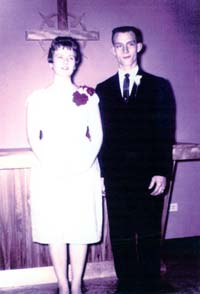 Albert Luverne Leonard Jr. Saundra Wagner Wedding