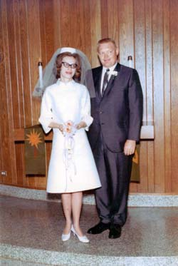Donald and Dixie Lee Freese Anderson Wedding