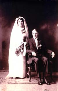 Elmer and Lily Kuhlmann Goettsch Wedding