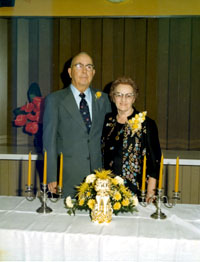 Emil Frederick & Clara Anderson Gottsch 50th wedding photo