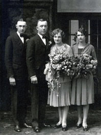 Emil Frederick & Clara Anderson  Gottsch wedding photo