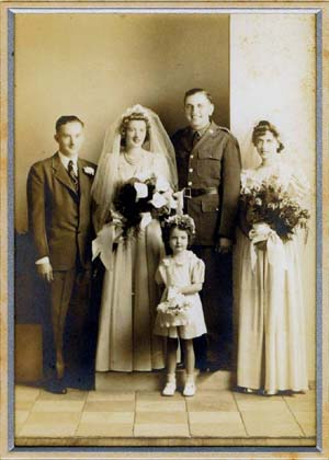 Everett Benjamin and Ann Klinkrod Peeters Wedding Photo
