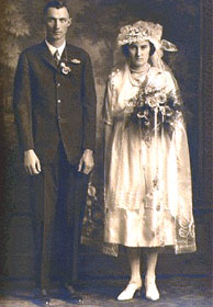 Henry Detlef & Catherine Marie Blair Schneider wedding photo