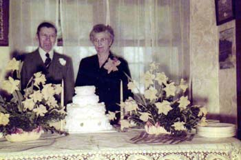 Otto and Anna Gottsch 50th Wedding anniversary