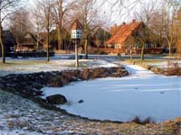 Fiefbergen Village Pond Winter