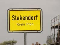 Stakendorf Village Sign