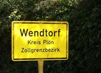 Wendtorf Village Sign
