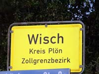 Wisch Village Sign